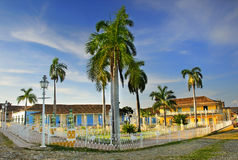 Plaza mayor in Trinidad, cuba Stock Image