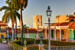 Plaza Mayor - Trinidad, Cuba Royalty Free Stock Images