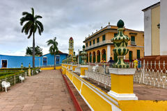 Plaza Mayor - Trinidad, Cuba Royalty Free Stock Photography