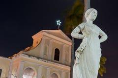 Plaza Mayor - Trinidad, Cuba Royalty Free Stock Photos