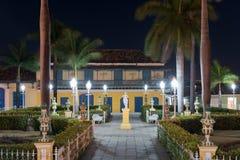 Plaza Mayor - Trinidad, Cuba Royalty Free Stock Photography