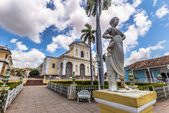 Plaza Mayor in Trinidad, Cuba Royalty Free Stock Images