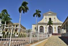 The Plaza Mayor in Trinidad, Cuba Royalty Free Stock Photo