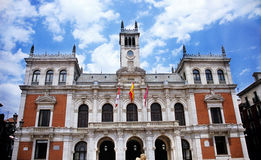 Plaza Mayor Valladolid royalty free stock image