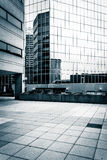 Plaza and modern buildings in Baltimore, Maryland. Royalty Free Stock Photos