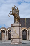 Plaza Morelos in Toluca, Mexico. Statue of Morelos in Toluca Mexico Stock Image