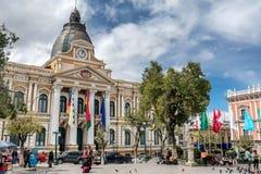 plaza murillo Λα της Βολιβίας paz Στοκ εικόνα με δικαίωμα ελεύθερης χρήσης