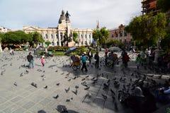 Plaza Murillo Λα paz boleyn Στοκ εικόνες με δικαίωμα ελεύθερης χρήσης