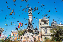 Plaza Murillo στο Λα Παζ Στοκ φωτογραφίες με δικαίωμα ελεύθερης χρήσης