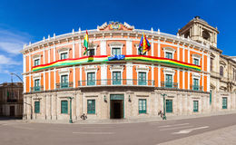 Plaza Murillo, LaPaz Royalty Free Stock Images