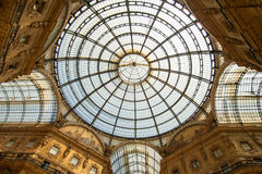 Galleria Vittorio Emanuelle Royaltyfria Foton