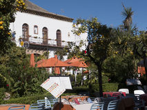 Plaza Naranja, πορτοκαλί τετράγωνο Marbella στο Κόστα ντελ Σολ Ισπανία Στοκ φωτογραφίες με δικαίωμα ελεύθερης χρήσης