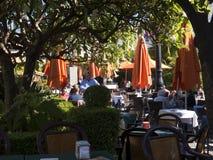 Plaza Naranja, Orange Square in Marbella on the Costa del Sol Spain Stock Photography