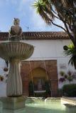Plaza Naranja, Orange Square in Marbella on the Costa del Sol Spain Stock Photos