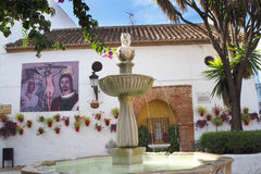 Plaza Naranja, Orange Square in Marbella on the Costa del Sol Spain Royalty Free Stock Photo