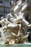 Plaza Navona - Roma Fotografía de archivo libre de regalías