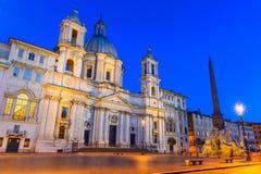 Plaza Navona, Roma Foto de archivo