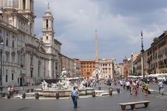 Plaza Navona fotografía de archivo