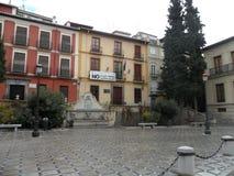 Plaza nueva-Γρανάδα-Ισπανία Στοκ εικόνες με δικαίωμα ελεύθερης χρήσης