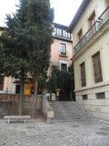 Plaza nueva-Γρανάδα-Ισπανία Στοκ Φωτογραφία