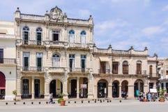 Plaza Nueva, Λα Habana Vieja, Κούβα Στοκ φωτογραφία με δικαίωμα ελεύθερης χρήσης