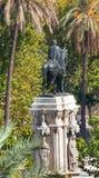 Plaza Nueva Ferdinand Statue Σεβίλη Ανδαλουσία Ισπανία Στοκ φωτογραφίες με δικαίωμα ελεύθερης χρήσης