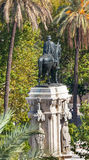 Plaza Nueva Ferdinand Statue Seville Andalusia Spain Royalty Free Stock Photos