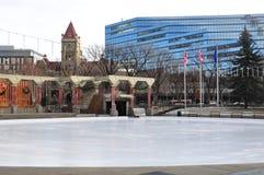 Plaza olímpica, Calgary fotos de archivo libres de regalías