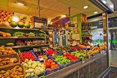 Plaza Olivar market Stock Photo