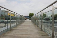 The plaza Royalty Free Stock Photo