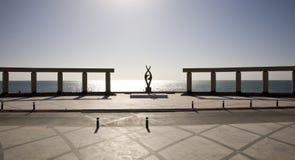 Plaza pública en Puerto Penasco México Fotos de archivo libres de regalías