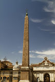 Plaza of The People Obelisk. Plaza of The People Rome Obelisk Royalty Free Stock Image