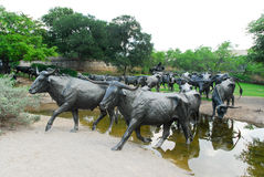 Plaza pioneira - Dallas, Texas Imagem de Stock