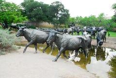 Plaza pioneira - Dallas, Texas fotografia de stock