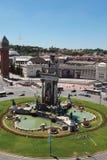 plaza pla espanya της Βαρκελώνης δ de espana Στοκ φωτογραφία με δικαίωμα ελεύθερης χρήσης