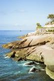 Plaza Playa del Duque, Duke Castle, Costa Adeje, Tenerife, Spain Stock Photos