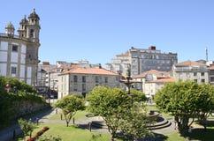 Plaza Pontevedra Στοκ Εικόνα