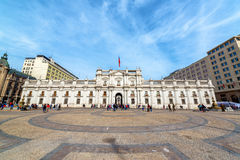 Plaza and Presidential Palace Stock Photos