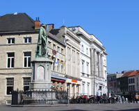 Plaza principal Aalst Imágenes de archivo libres de regalías