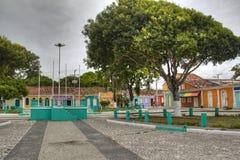 Plaza principal de Porto Seguro Imagen de archivo libre de regalías