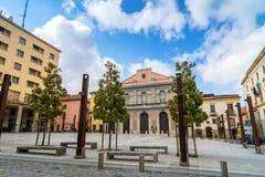 Plaza principal en Potenza, Italia Imagenes de archivo