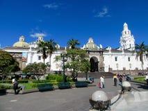 Plaza principal Quito, Ecuador Imagenes de archivo