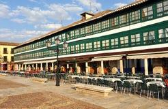 Plaza principale di Almagro, Spagna Fotografia Stock