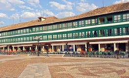 Plaza principale di Almagro, Spagna Fotografia Stock Libera da Diritti
