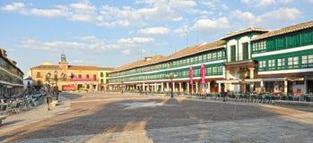 Plaza principale di Almagro, Spagna Fotografie Stock Libere da Diritti
