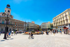Plaza Puerta del Sol Stock Photo