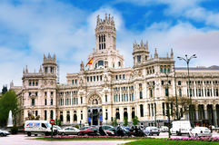 Plaza de Cibeles, Madrid Fotos de Stock Royalty Free