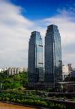 Plaza Radisson BLU σε Chongqing Στοκ Φωτογραφίες