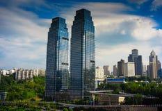 Plaza Radisson BLU σε Chongqing Στοκ Εικόνες