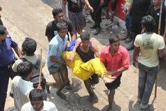 Plaza Rana συνέπειας στο Μπανγκλαντές (φωτογραφία αρχείων) Στοκ εικόνα με δικαίωμα ελεύθερης χρήσης